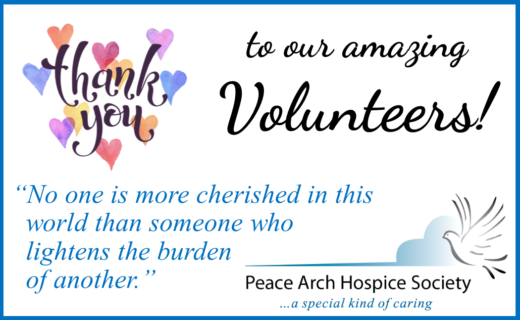 Thank You Archives Page 2 Of 7 Peace Arch Hospice Society